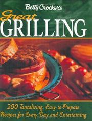 Betty Crocker's great grilling cookbook.
