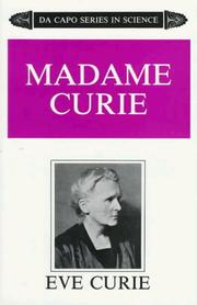 Madame Curie by Curie, Eve