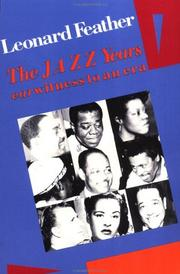 Cover of: The jazz years
