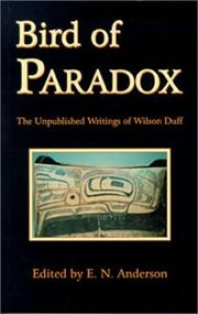 Cover of: Bird of paradox