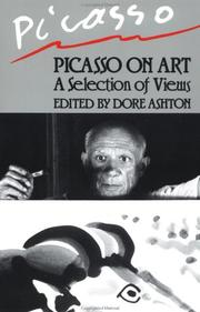 Cover of: Picasso on art: a selection of views