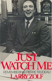Cover of: Just watch me