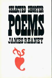 Cover of: Selected shorter poems