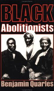 Cover of: Black abolitionists