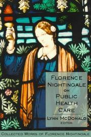 Cover of: Florence Nightingale on Public Health Care