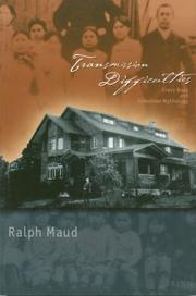 Cover of: Transmission difficulties | Ralph Maud