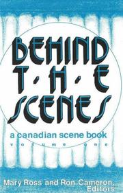 Cover of: Behind the Scenes |