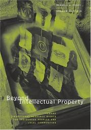 Cover of: Beyond intellectual property