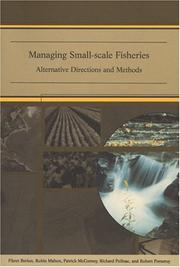 Cover of: Managing small-scale fisheries |