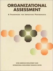 Cover of: Organizational Assessment |