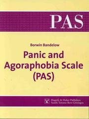 Cover of: Panic and Agoraphobia scale (PAS)