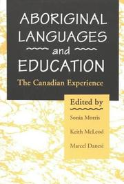 Cover of: Aboriginal languages and education
