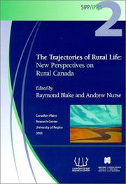 Cover of: The Trajectories of Rural Life | Andrew Nurse