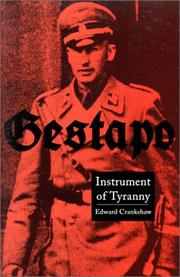Gestapo by Crankshaw, Edward.