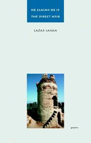 Cover of: He Claims He Is the Direct Heir | Lazar Sarna