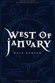 Cover of: West of January