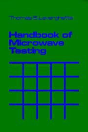 Cover of: Handbook of microwave testing