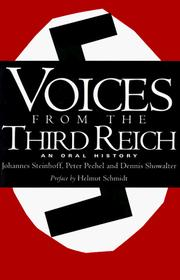 Cover of: Voices from the Third Reich