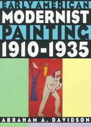 Cover of: Early American modernist painting, 1910-1935