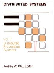 Cover of: Distributed Processing Systems (Distributed Systems)