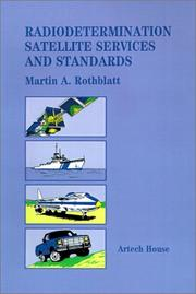 Cover of: Radiodetermination satellite services and standards