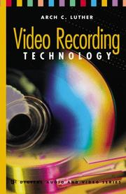 Cover of: Video Recording Technology
