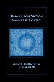 Cover of: Radar cross section analysis and control