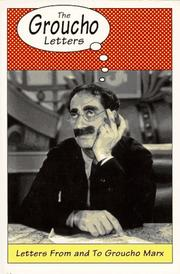 Cover of: The Groucho letters