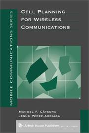 Cover of: Cell planning for wireless communications