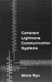 Cover of: Coherent lightwave communication systems