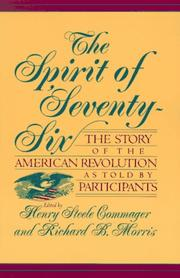 Cover of: The spirit of 'seventy-six