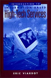 Cover of: Introduction to Information-Based High-Tech Services | Eric Viardot