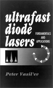 Cover of: Ultrafast diode lasers | Peter VasilК№ev