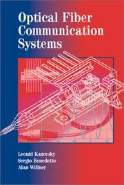 Cover of: Optical fiber communication systems