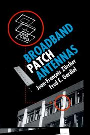 Cover of: Broadband patch antennas