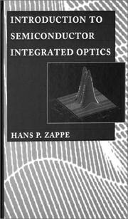 Cover of: Introduction to semiconductor integrated optics