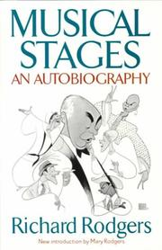 Musical Stages by Richard Rodgers