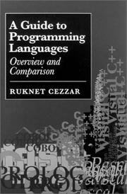 Cover of: A guide to programming languages