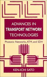 Cover of: Advances in transport network technologies