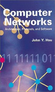Cover of: Computer networks