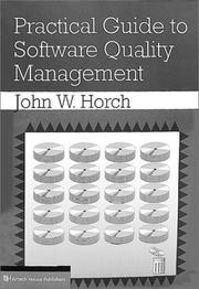 Cover of: Practical guide to software quality management