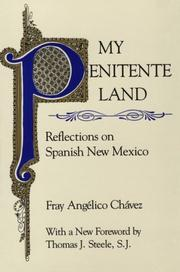 Cover of: My Penitente Land | Angelico Chavez