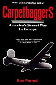 Cover of: Carpetbaggers | Ben Parnell
