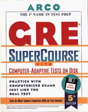 Cover of: Everything You Need to Score High on the Gre With Computer-Adaptive Tests on Disk