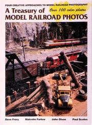 Cover of: A Treasury of model railroad photos |