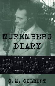 Cover of: Nuremberg diary