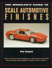 Cover of: The modeler's guide to scale automotive finishes