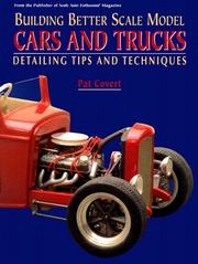 Cover of: Building Better Scale Model Cars and Trucks
