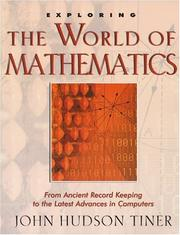 Cover of: Exploring the world of mathematics