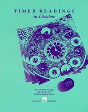 Cover of: Timed Readings in Literature | Edward Spargo